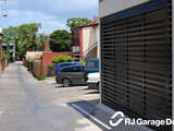 Counterweight Garage with Bar cladding - Australian Made Garage Door